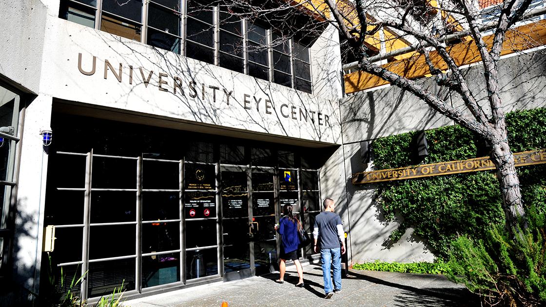 photo of Eye Center entrance.
