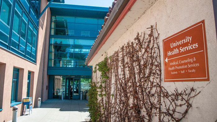 Photo of UC Berkeley Health Center