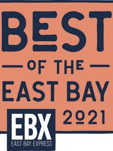 East Bay Express Winner Logo