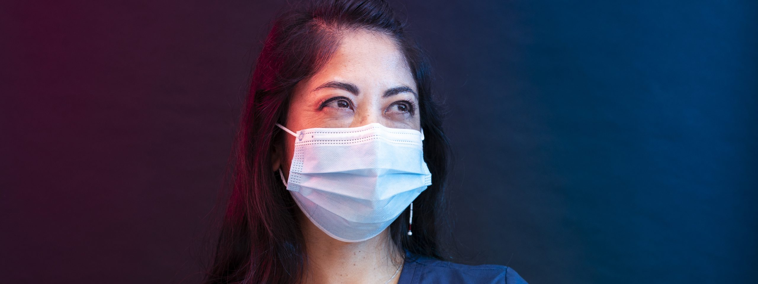 Dr. Chu in surgical mask